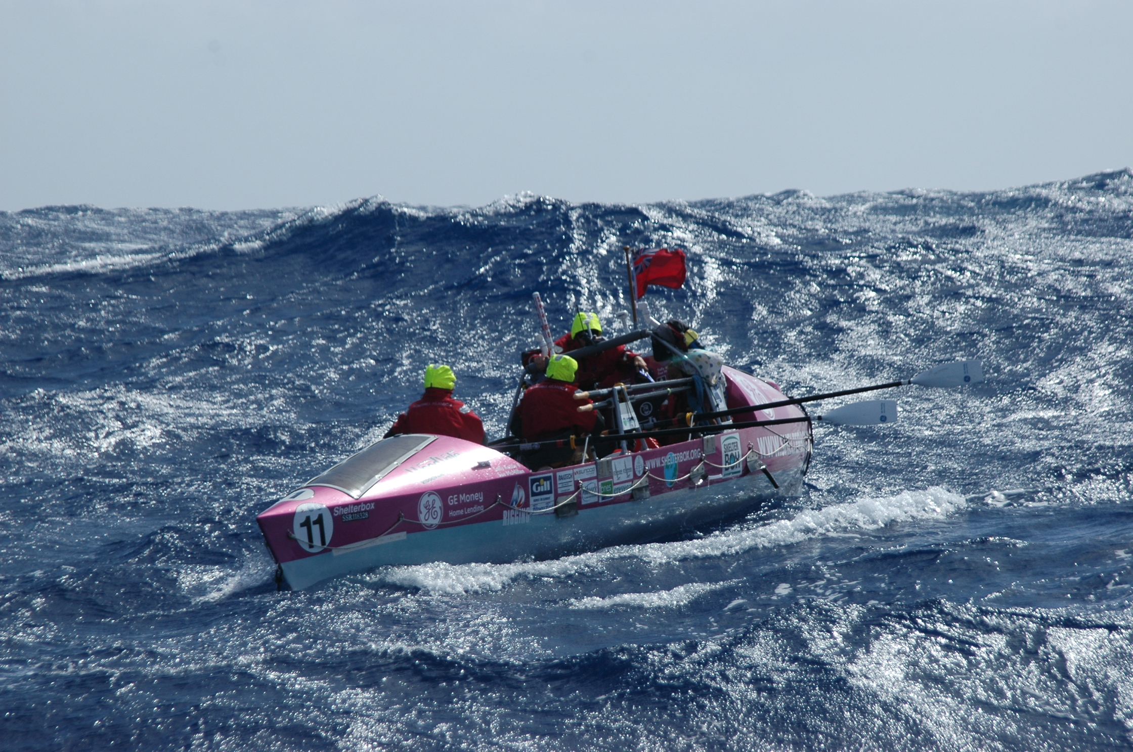 Rowing Atlantic 2013 images