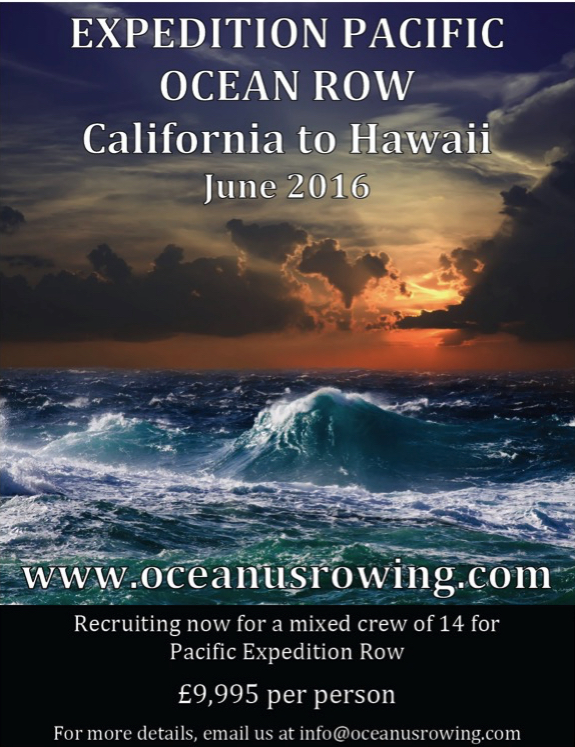 Pacific Expedition Row 2016
